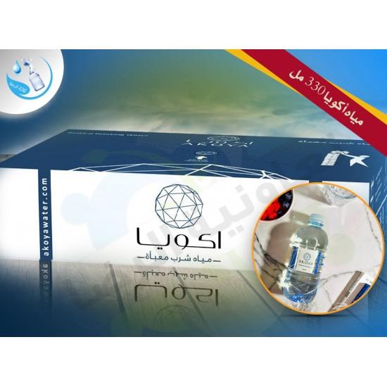 Akoya water 330 ml carton