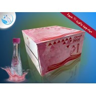 Jude water carton with rose flavor, 330 ml